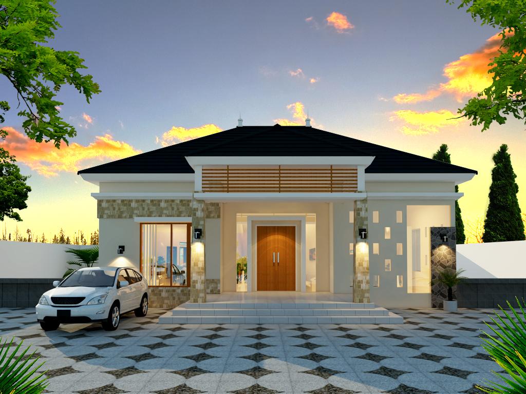Desain Rumah Tropis Modern \u2013 Bapak Yedit (Toraja Sulawesi Selatan) & Desain Rumah Tropis Modern \u2013 Bapak Yedit (Toraja Sulawesi Selatan ...