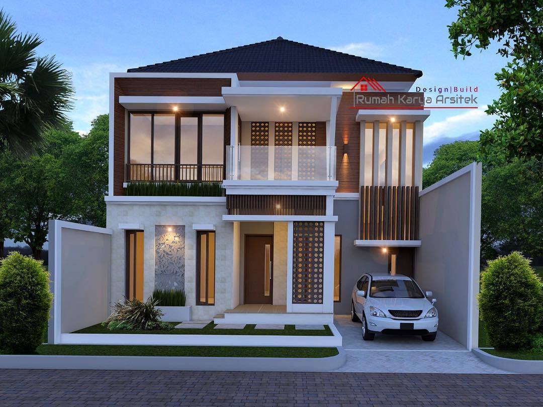 Konsep Desain Rumah Tropis Modern Ibu Tris Toraja Rumah Karya Arsitek
