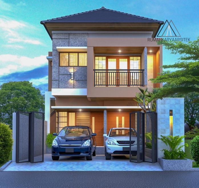 Gambar Desain Rumah Minimalis Dwg  desain rumah lantai 2 bapak nugroho jakarta timur jasa